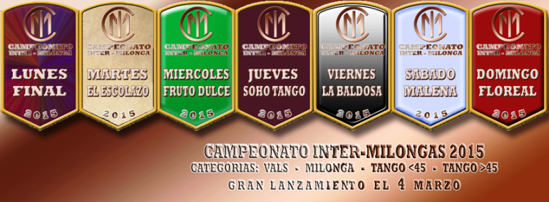 News :: Tango shoes Odile support 1°Campeonato Inter Milongas